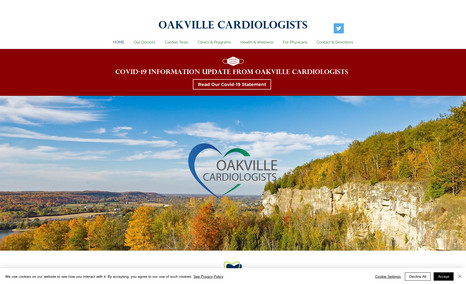Oakville Cardiologists Cardiology group, Canada.
