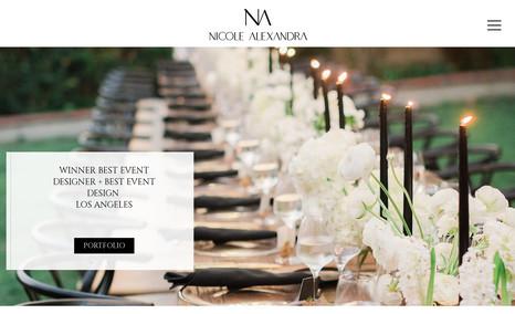 Nicole Alexandra Wedding Planner in Los Angeles CA
