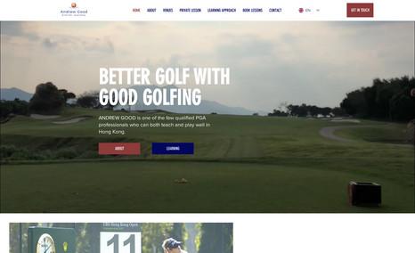 Good Golfing - Hong Kong Fully customized bilingual website, advanced SEO, ...