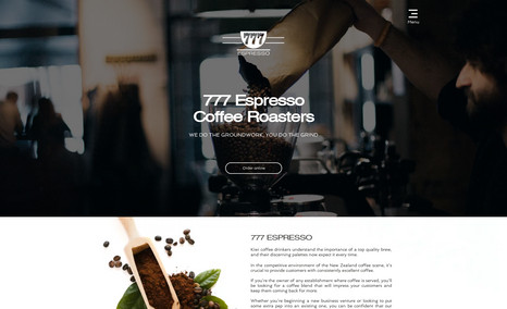 777 Espresso Kiwi coffee drinkers understand the importance of ...