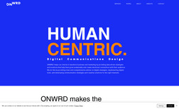 ONWRD Website for digital marketing company in the Baham...