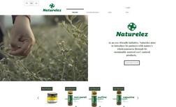 Naturelez Naturelez ürün tanıtım ve satış sitesi