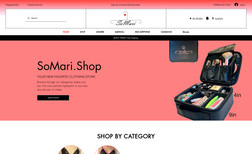 SoMari.Shop E-commerce store targeting women and young childre...