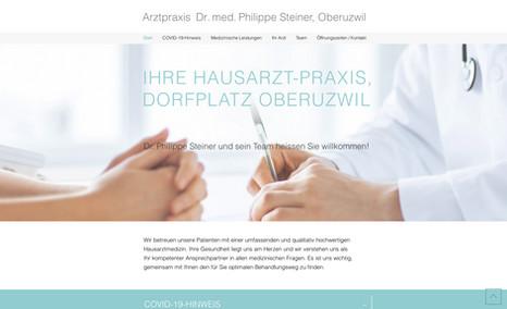 praxisdrsteiner Redesign der Website mit SEO