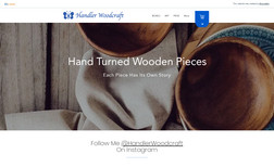 Handler Woodcraft expert local wood turner with a starting point for...