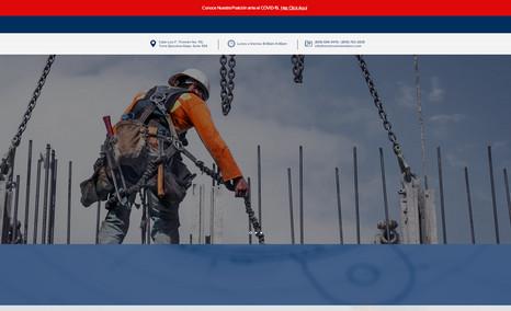Velazco Constructora Construction Firm Webdesign