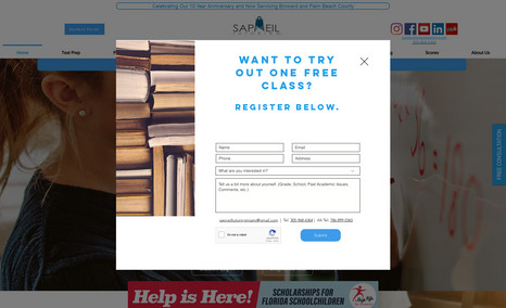 Sapneil Tutoring Sapneil Tutoring has been providing SAT/ACT Prep, ...