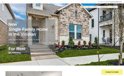 Home for Rent Our client wanted a website that showcases their r...