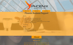 Phoenix Business Support Bright and vibrant this website strikes every visi...