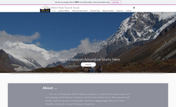Sikkim trekking Site building.  A site for traveler in visiting Si...