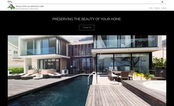 Resolution SG Services Custom informational site for a local residential ...