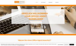 Your Office Agent Webseite für eine Büroorganisation