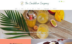 The CaribDiva Company They wanted a elegant Caribbean appeal that fits h...