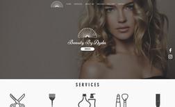 Beauty By Ayda Salon website.