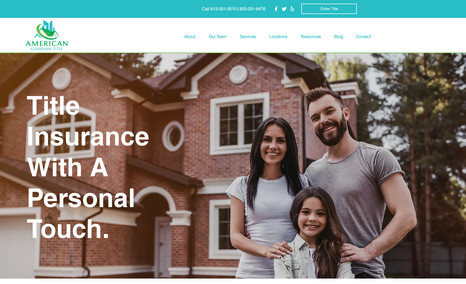 American Guardian Title New, redesigned website for title insurance compan...