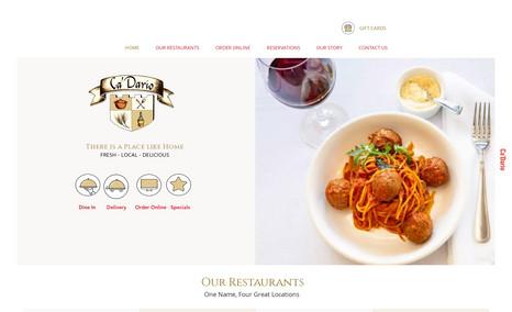 Ca'Dario Restaurants