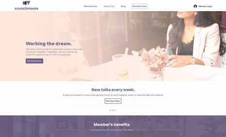 Crunchmoms Social Website