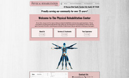 The Physical Rehabilitation Center Created for client based in Garden City & his phys...