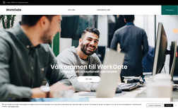 Workgate.se A job application website where users can apply fo...