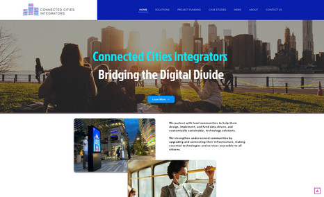 Connected Cities Integrators Full Branding & Web design services. More works at...