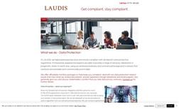 Laudis Website redesign.
