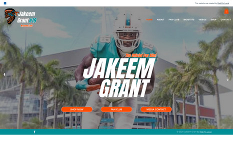 Official Jakeem Grant Fan Club Official Fan Club and merchandise for Jakeem Grant...