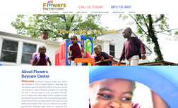 Flowers Daycare Services This daycare wanted a way to introduce potential c...