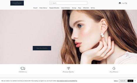 Sylvana Davinci Jewellery site redesign to deliver a more classic ...