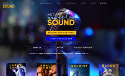 How Sweet the Sound Contest site