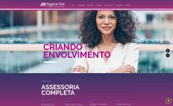Agência Agora Vai - Teixeira de Freitas - LOGOTIPO - LAYOUT - SEO COMPLETO