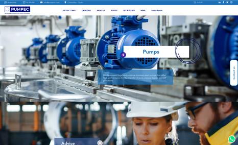 PUMPEC Empresa comercializadora de productos para industr...