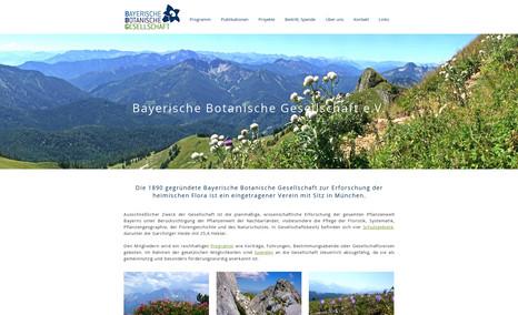 botanischergarten Botanischer Garten - München - Redesign für den re...
