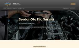 Serdar Oto Filo Servis Kurumsal web sitesi SEO, Google entegrasyonları ku...