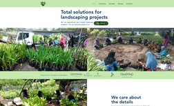 Alba Maldives Landscaping and gardening business website. They w...