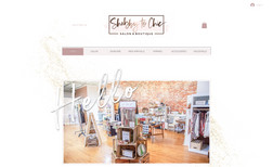 Shabby to Chic Salon Boutique New trendy e-commerce website for Shabby to Chic S...