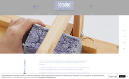 Abrador Soaps A one-page scroll down branding website. Simple bu...