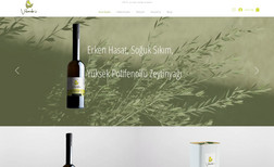 Velonidas Olive Oil Products Website