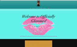 Officially Glammed 16 Year old entrepreneur wanted an ecommerce websi...