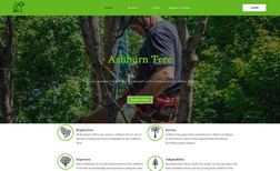 ashburntree A full stack web application for a local Arborist ...