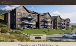 Storefjell Panorama Profil og nettsted for å selge fritidsleiligheter