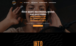 Bootleg Recording Website Design & Development