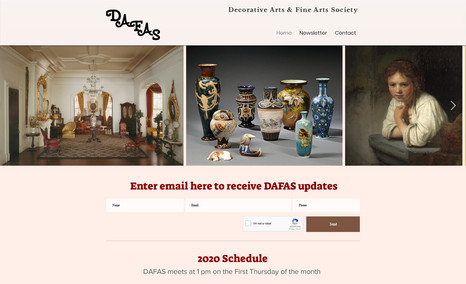 Decorative and Fine Arts Society NJ DAFAS is a private art group with a focus on affor...