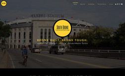 South Bronx Commercial Website for Real Estate Company in the South Bronx