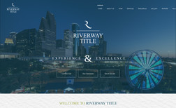 Riverway Title Website Design, Re-Branding, Photography || Riverw...