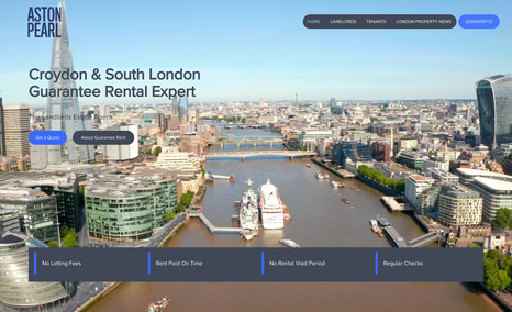 Aston Pearl Estate agent work and backend - website build and ...