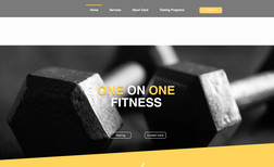 One on One Fitness Online virtual sessions, nutritional coaching, one...