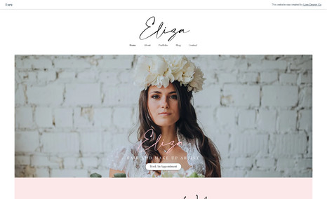 Eliza WHAT'S INCLUDED: This website has a total of 5 pag...