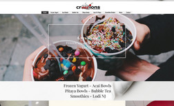 Creations Frozen Yogurt Creations Frozen Yogurt is a family owned and oper...