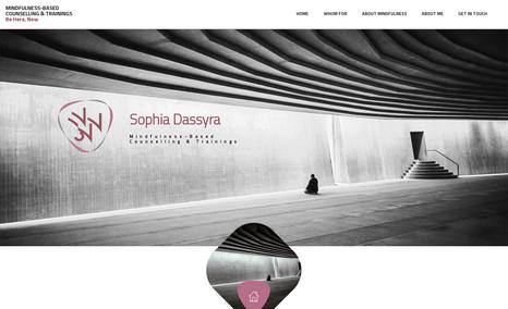 Sophia Dassyra Mindfulness-Based, Counselling & Trainings
