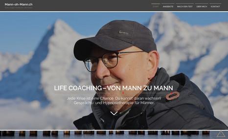 meinewebsite Neukonzeption, Design und Realisation der gesamten...
